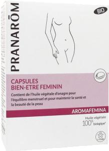 Aromafemina capsules bien être féminin