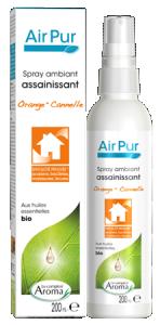 Air pur spray ambiant assainissant orange cannelle