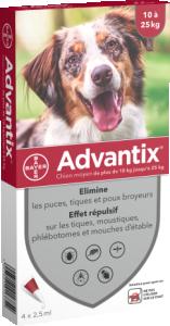 ADVANTIX S ext chien moyen chien moyen