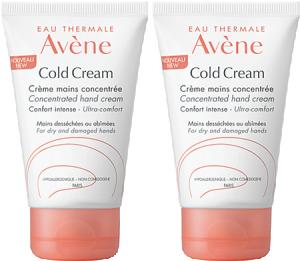 Avène cold cream crème mains concentrée lot de 2 x 50 ml