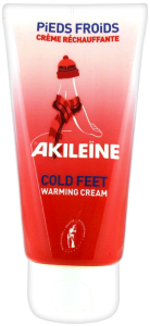 Akileïne crème réchauffante pieds froids 75 ml