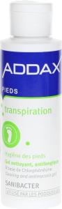 Addax pieds gel nettoyant antifongique sanibacter 125ml