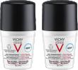 VICHY HOMME Déodorant anti-transpirant anti trace 48H
