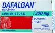 Dafalgan 300 mg, suppositoire